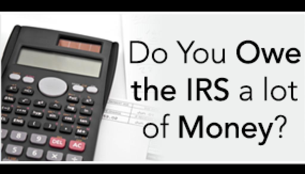 Owe IRS